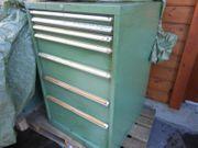 Schubladenschrank 720x720x1120 mm - 7 Laden