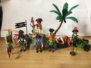 Playmobil Pirateninsel selbst zusammen gestellt