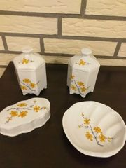 Zubehör aus Keramik für Bad