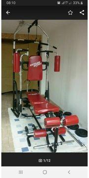 Kettler Kraftstation Hantelbank Bodybuilding 180