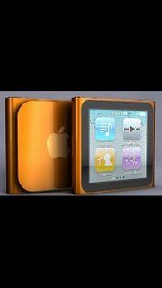 iPod Nano orange metallic