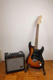 E-Gitarre Starter Set Squire Fender