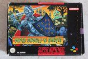 Super Nintendo Super Ghouls N