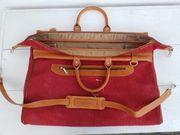 Leder-Reisetasche aus Spanien Marke LA