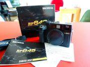 Bronica RF645 Sucherkamera mit OVP