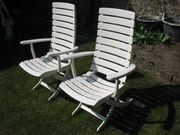 2 Deckchair Gartenstühle Haubold Elegance