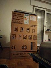 Neuer Kühlschrank ohne Gefrierfach