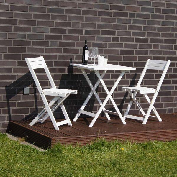 Gartenset Tisch Mit 2 Stühlen