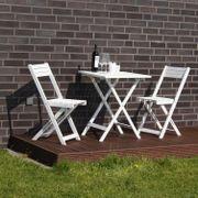 Gartenset Tisch mit
