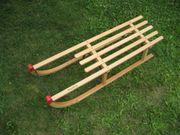 Schlitten aus Holz Holzschlitten Schlitten