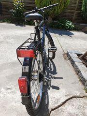 Gepflegtes MTB Citybike schwarz 26