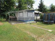 Campingplatz Dauerstellplatz Wohnwagen HOBBY DE