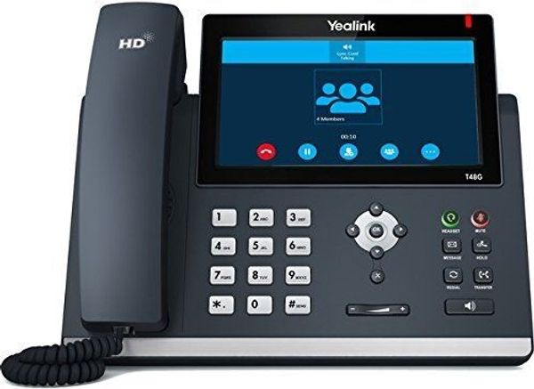 Yealink Sip-T48G - Weinheim - Yealink SIP-T48GDas SIP-T48G ist das aktuellste IP-Telefon von Yealink. Entwickelt für Unternehmen, Industrie und Handel, kann es sowohl im Inland als auch international eingesetzt werden. Das große Bedienfeld mit Touchscreen, macht das Wechs - Weinheim