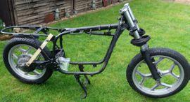 Motorrad-, Roller-Teile - Komplettes BMW R80 R100 Fahrgestell