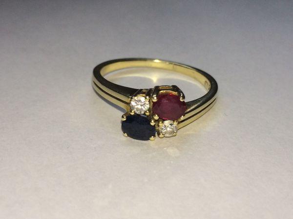 damen ring gold 585 gebraucht kaufen 2 st bis 65 g nstiger. Black Bedroom Furniture Sets. Home Design Ideas