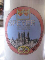Bierkrug 80 Jahre Brezelfest Speyer