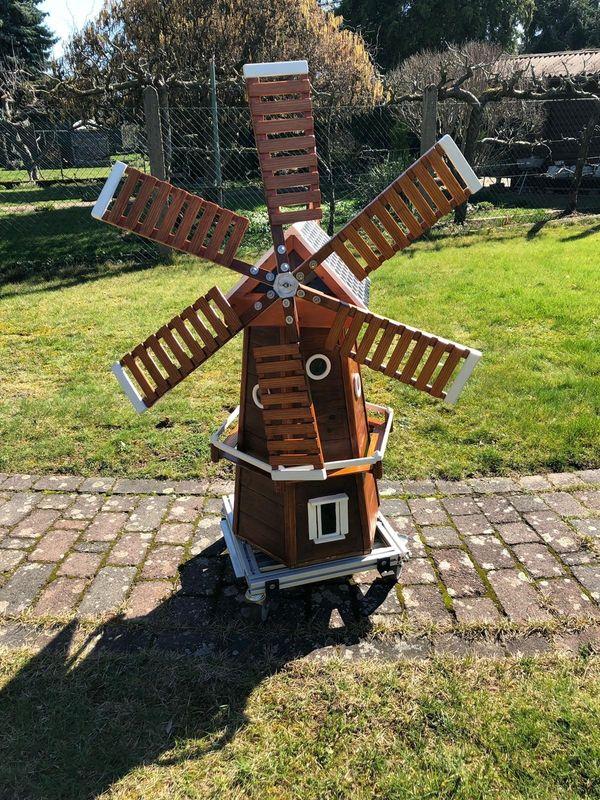 Schöne Garten Windmühle Aus Holz Mühle Handarbeit In Groß Zimmern