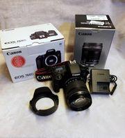 Canon EOS 760d mit Canon