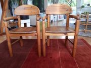 2 Vollholzstühle mit