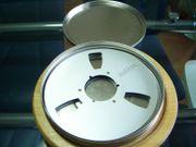 Tonband Blechbox für 3 Spulen