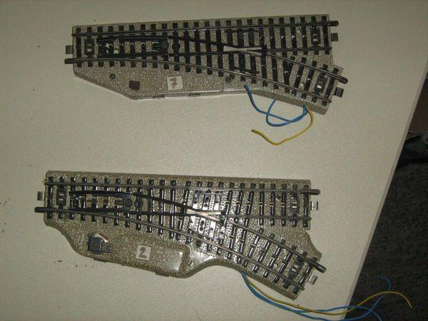 elektrische Weiche rechts Original Märklin