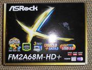 ASRock FM2A68M-HD FM2 Mainboard noch