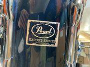 Schlagzeug Pearl Export Serie schwarz