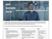 Senior SAP Finance FI CO
