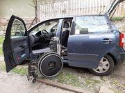 behindertengerecht mit Rollstuhl