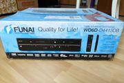 DVD-Player und VHS Videokassettenrecorder