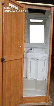 Waschraum Nasszelle Bad komplett mit