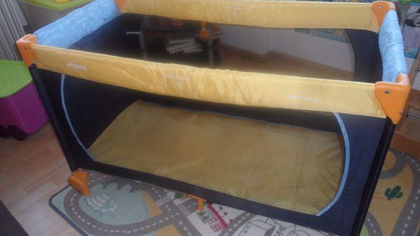 hauck kinderreisebett ankauf und verkauf anzeigen billiger preis. Black Bedroom Furniture Sets. Home Design Ideas