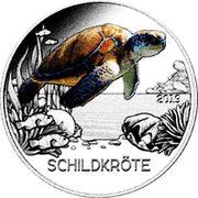 3 EUR Tier Taler Schildkröte