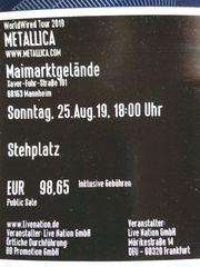 2 Karten Metallica Sonntag 25