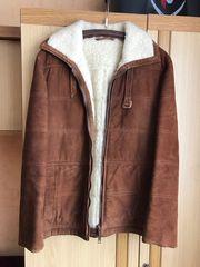 Verkaufe Herren Echte Lammfell-Lederjacke