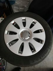 Audi Felgen mit Sommerreifen