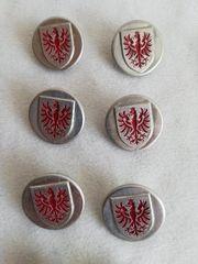 Alte UNIFORM KNÖPFE Tiroler Adler