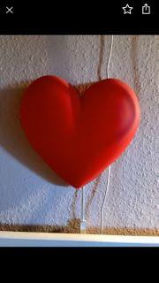 Herzlampe Ikea für Kinderzimmer