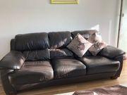 Echt Leder Sofa 3 2
