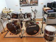 Großes Akustik Schlagzeug-Set Sonor Select