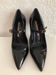 Schwarze High Heels Gr 36