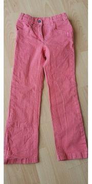 Jeanshose Esprit rosa Größe 128