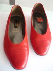 SALAMANDER lady-line rote Pumps aus