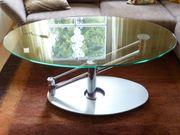 Designer Couchtisch Glas