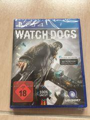 PS4 WATCH DOGS - neu und