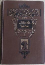 Uhlands Werke 3 Bände in