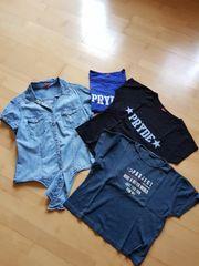 T Shirt und Hemd gr