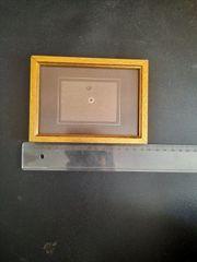 Holzbilderrahmen mit Glasscheibe ca 10x15cm