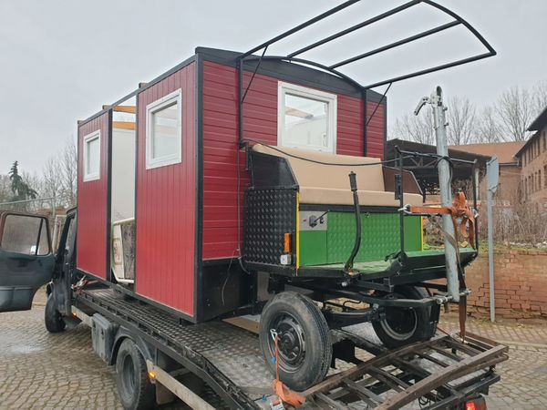 Zigeunerwagen für Pferde und Traktoren