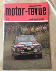 4 Hefte motor - revue